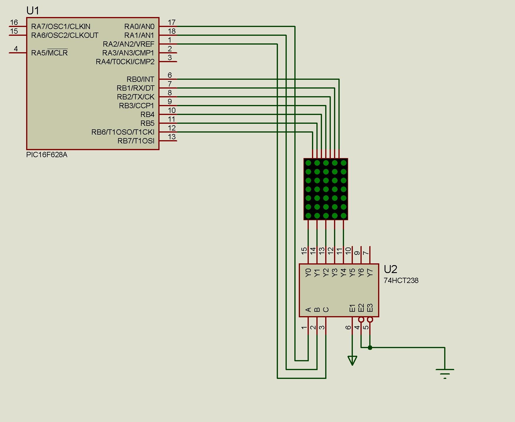 7 5 Matrix Arduino 82158 Led Not 52157 Dot Display Uygulamas Mikro D252nya